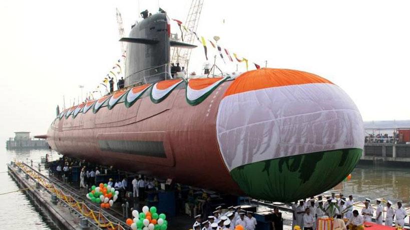 Modi commissions Scorpene-class submarine Kalvari