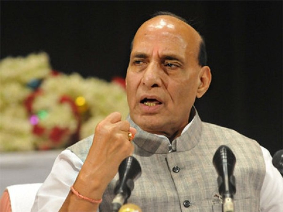 Defence Minister Rajnath Singh chairs Parliament