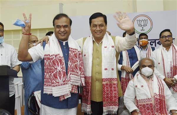 Himanta Biswa Sarma becomes new chief minister of Assam