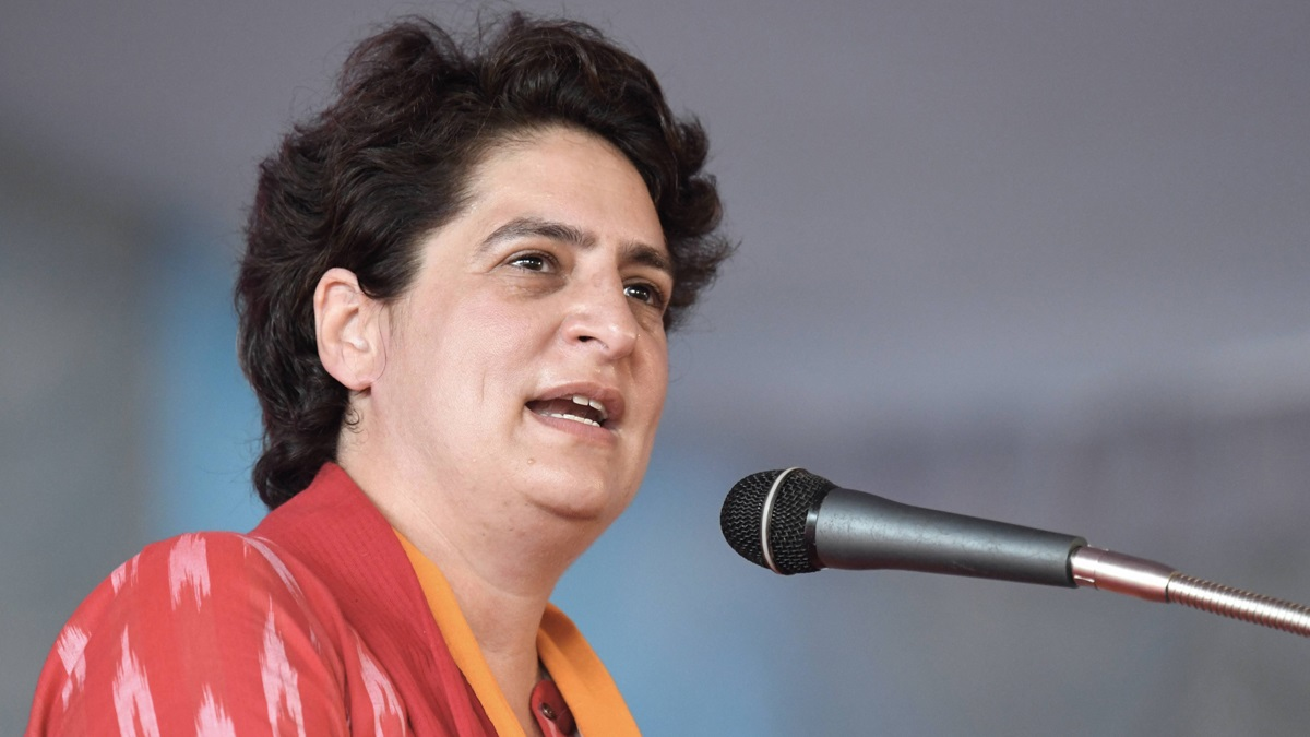 Modi govt has created records in giving trouble to people: Priyanka Gandhi