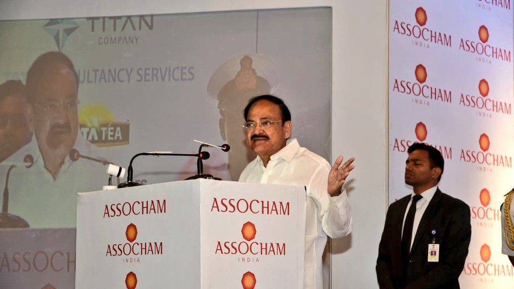 India has the potential to emerge as one of the leading economies in the next 10 years: Venkaiah Naidu