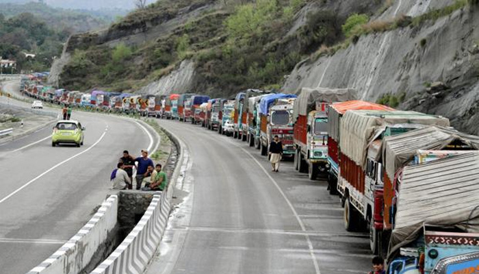 Massive landslide blocks Jammu-Srinagar national highway