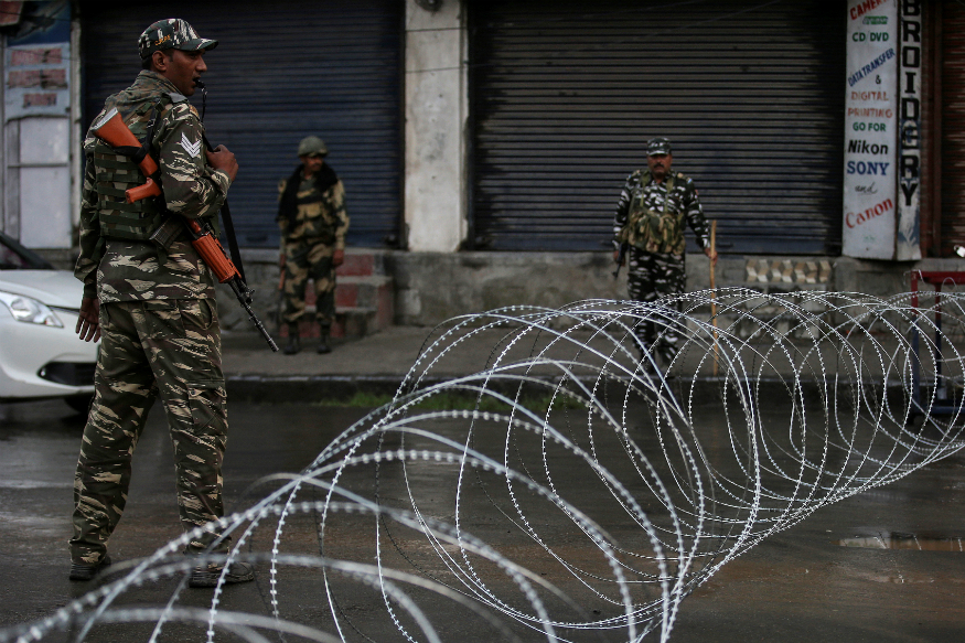 Restrictions in J&K