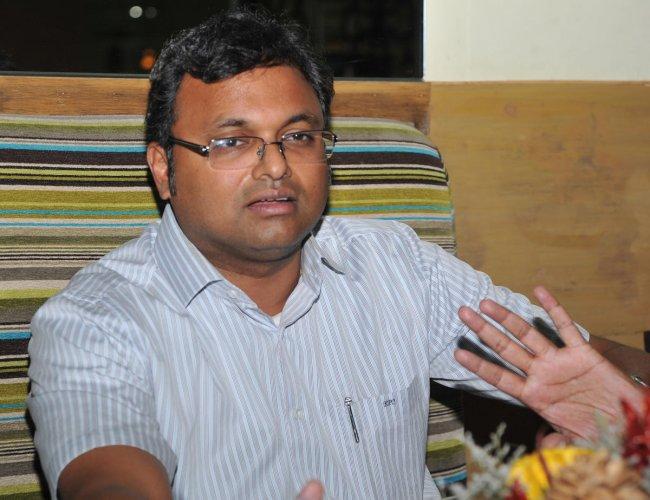 Never met Peter or Indrani Mukherjea, says Karti Chidambaram