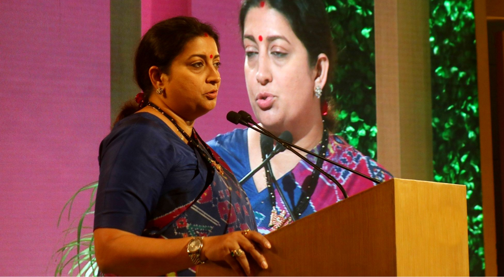 Smriti Irani addresses South Asia Safety Summit