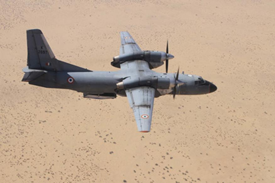 IAF continues search for missing aircraft An-32 amid adverse weather