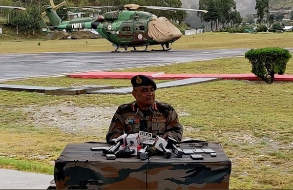 Eastern Army Commander: China Has Increased Activities At In Depth Areas Near Arunachal