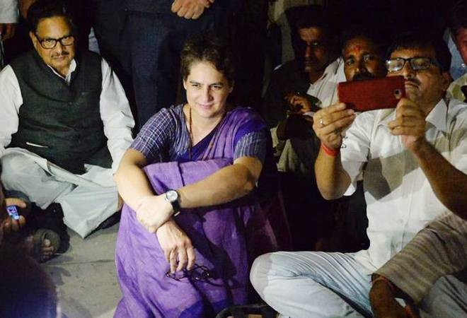 Priyanka Gandhi spent night at Chunar guesthouse