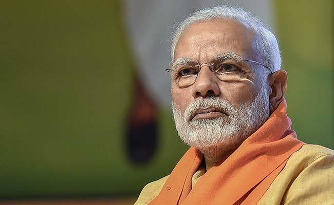 PM Modi drops