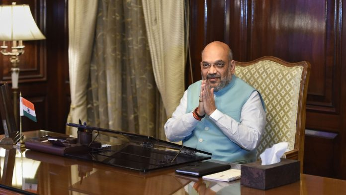 Amit Shah takes stock of internal security situation