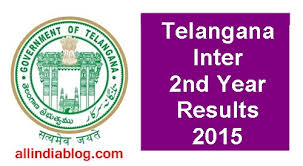 Telangana Intermediate Second Year results today