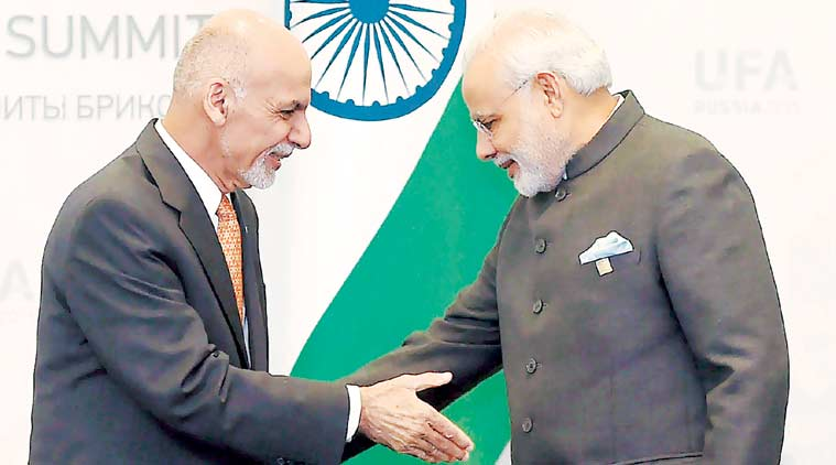 Modi meet Ghani to discuss security and bilateral cooperation