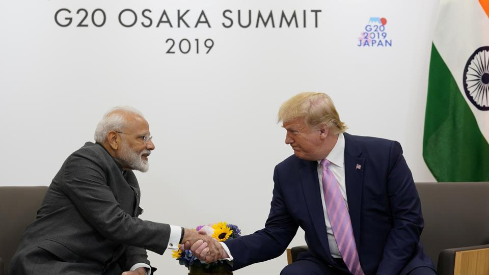 PM Modi holds bilateral talks with US President Trump
