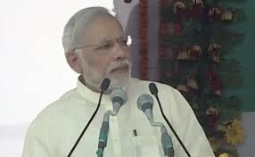 Achche din are here but not for those who looted the country:  Modi