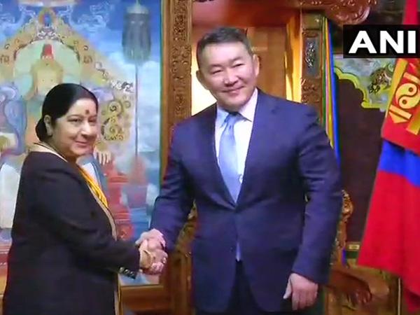 sushma-swaraj-meets-president-of-mongolia