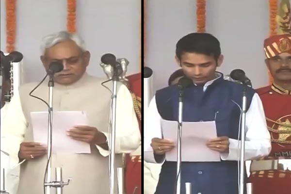 Nitish Kumar sworn in as Bihar Chief Minister
