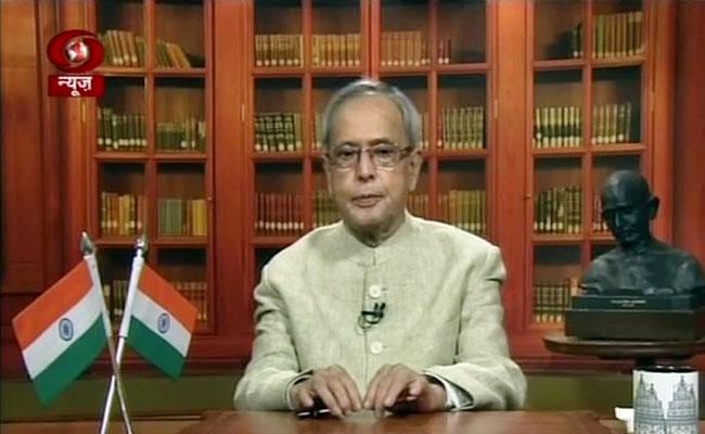 Parliament turning into combat arena: Pranab Mukherjee