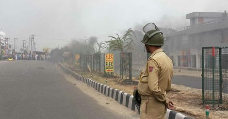 Jammu continues to be tense