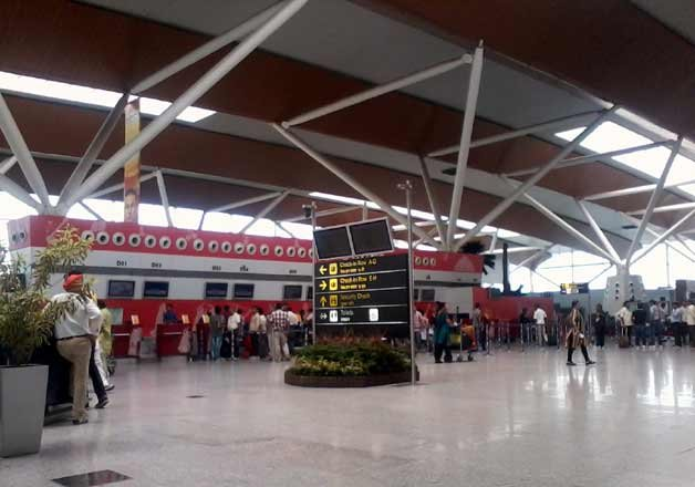 Radioactive leak at IGI Airport