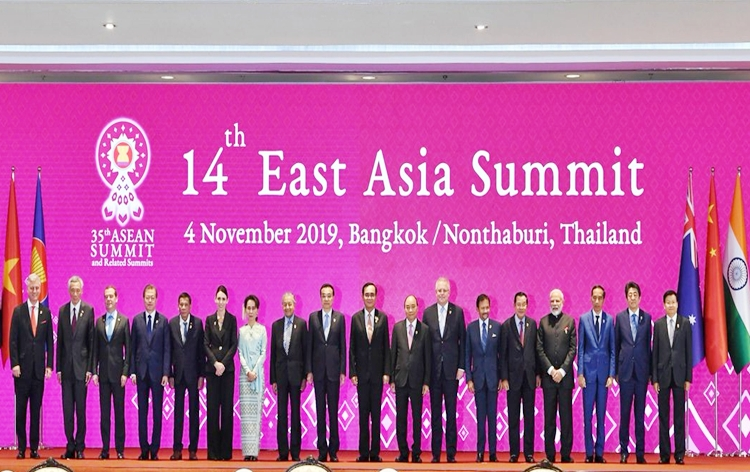 PM Modi outlines global challenges at 14th East Asia Summit