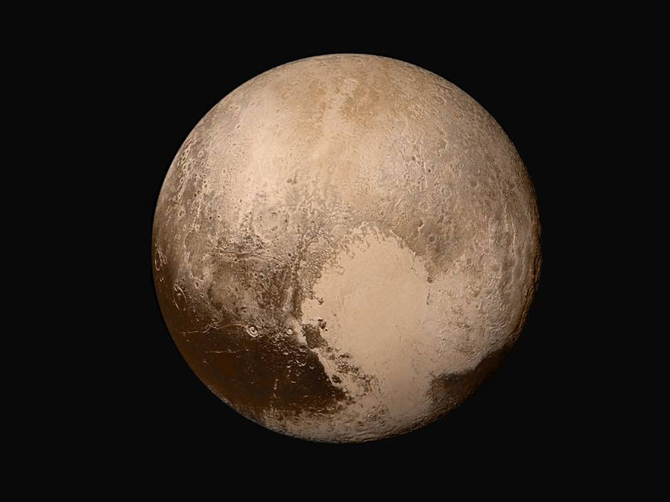 See fascinating Pluto in colour now