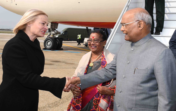 President Kovind to hold talks with his Croatian counterpart today