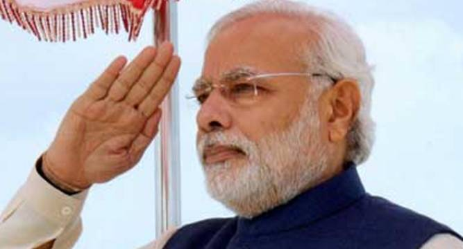 Modi pays tributes to 1965 war soldiers