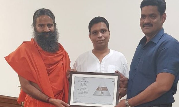 Patanjali ranked as India