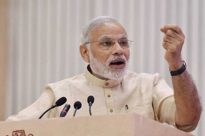 India is going through a massive tranformative phase: PM Modi