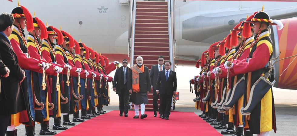 PM Modi arrives in Seoul on a two-day visit