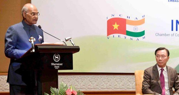 presidentkovindaddressesvietnamindiabusinessforum