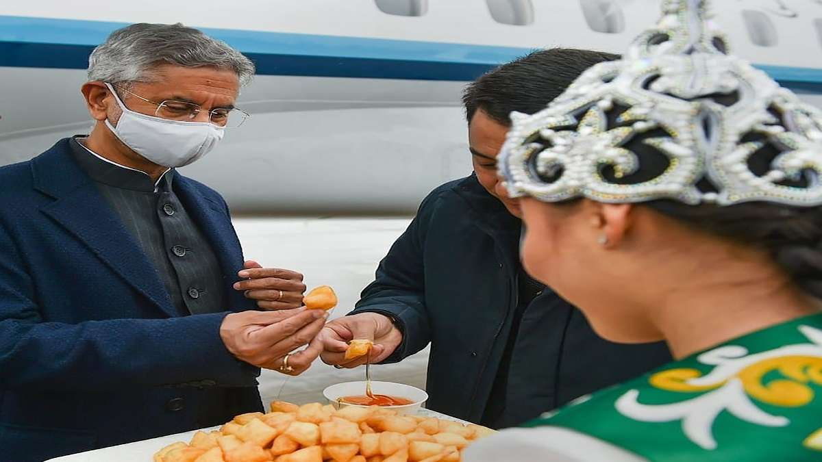 EAM S Jaishankar arrives in Kyrgyzstan for bilateral meeting