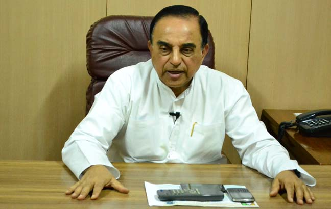 Subramanian Swamy files caveat in SC in National Herald case
