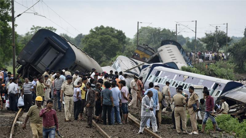 2 dead, 100 injured as two trains collide in Haryana