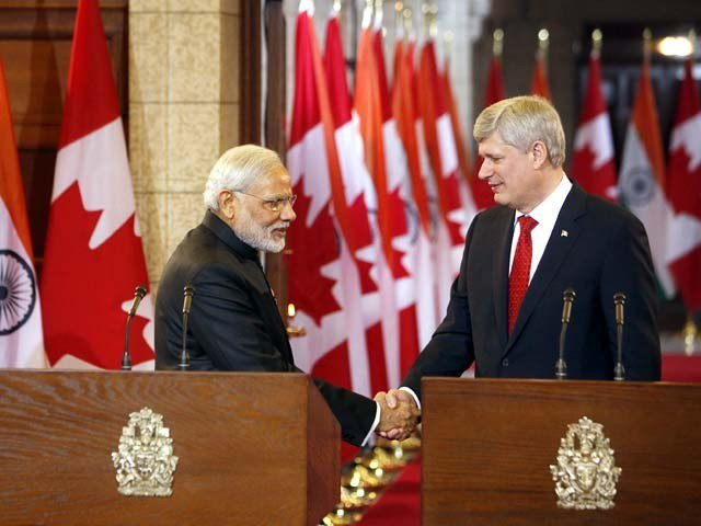 Canada to supply uranium to India