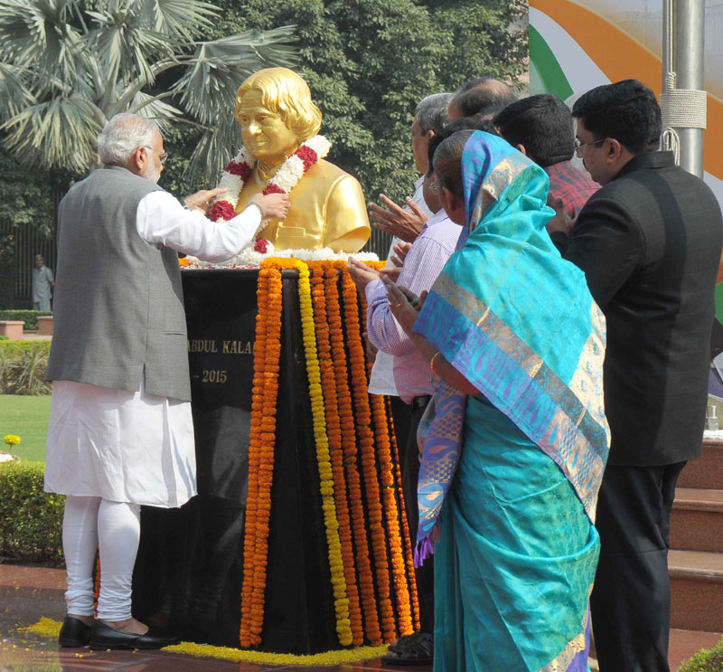 PM asks youth to follow footsteps of Dr.Abdul Kalam