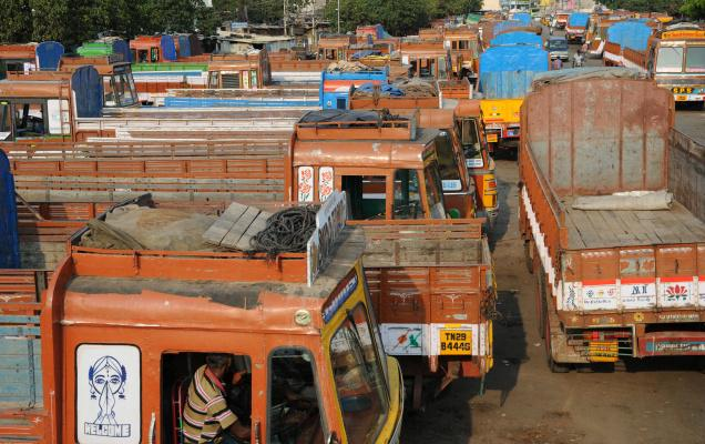 Truckers proceed on a nationwide strike from today