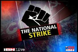 Trade union nationwide strike on September 2