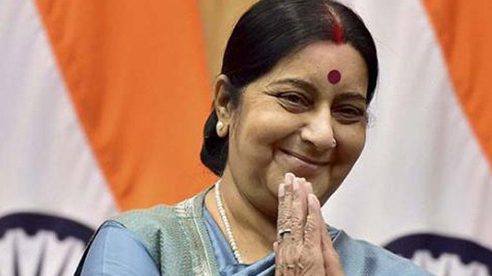 Sushma Swaraj embarks two day visit to Manama