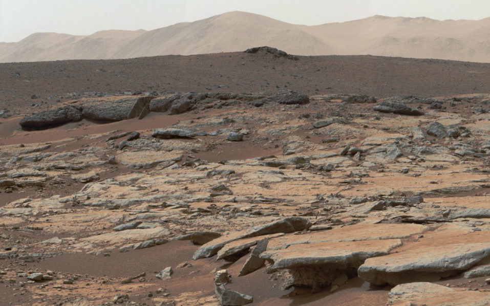 First lake of liquid water is discovered on Mars