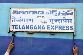 Telangana Express to be flagged off from Delhi today