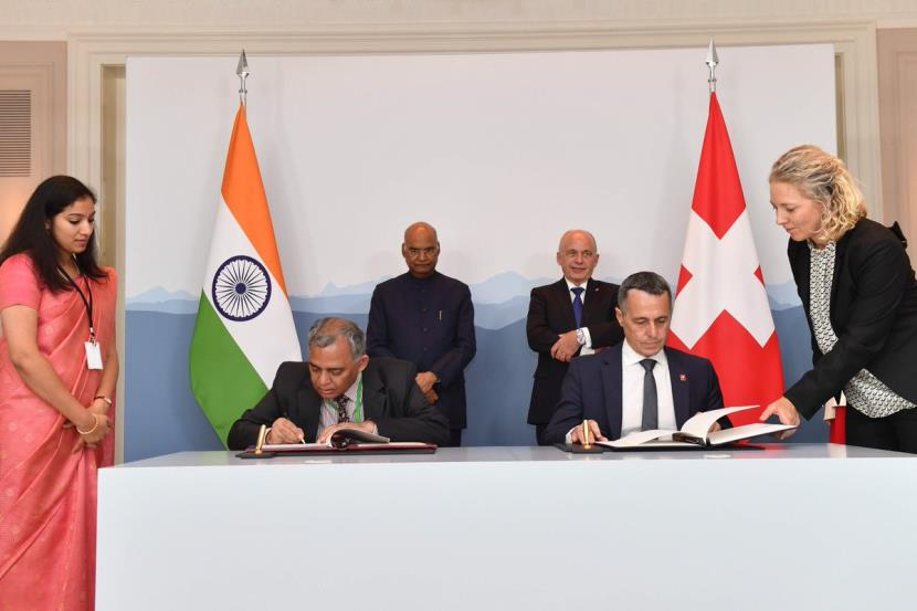 Prez Kovind invties Swiss companies to invest in India