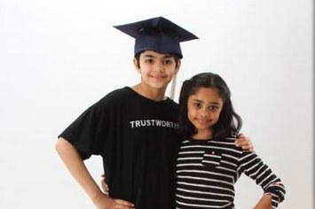 11-year old Indian-American genius graduates from college