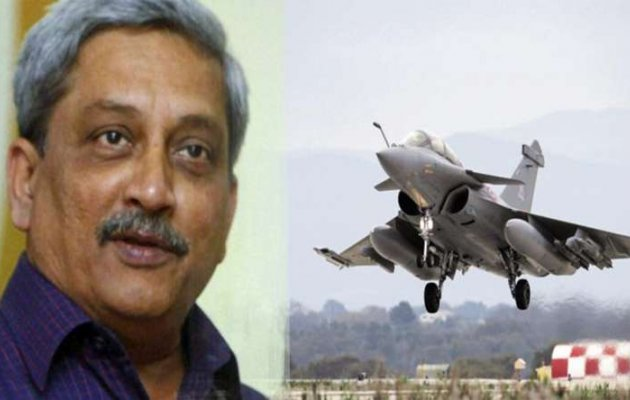 Rafale fighter planes deal yet to be finalised: Parrikar