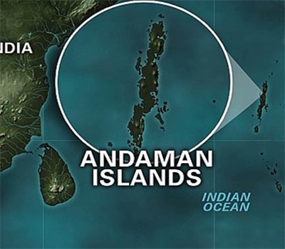 Earthquake hits Andaman and Nicobar Islands magnitude 5.4