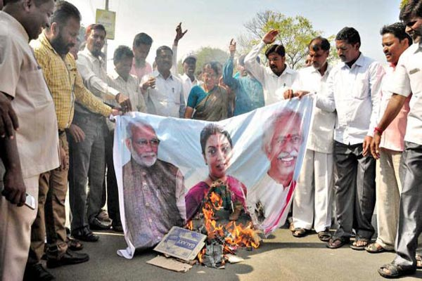 Is the government decided that all dissent is anti-national