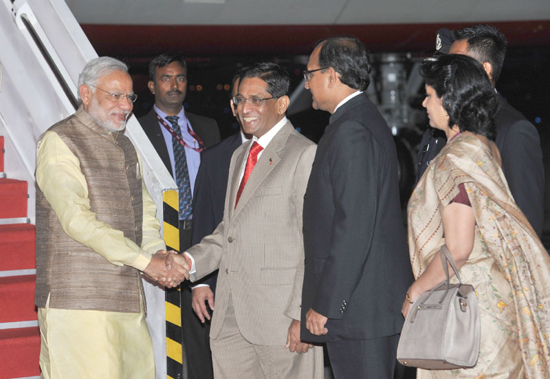 PM Modi reaches Kuala Lumpur on his two-nation visit to Malaysia and Singapore