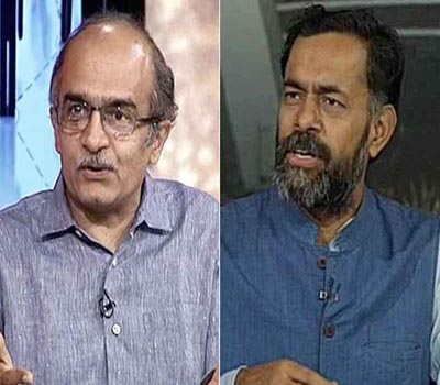 Ouster of Prashant Bhushan,Yogendra Yadav from PAC Shows Kejriwal hold on Party