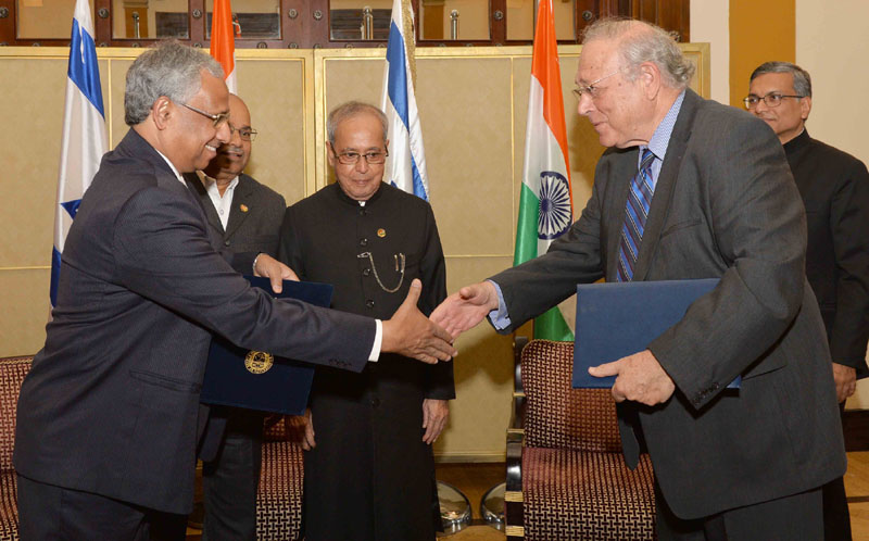 India, Israel sign pacts on double taxation avoidance and cultural exchange