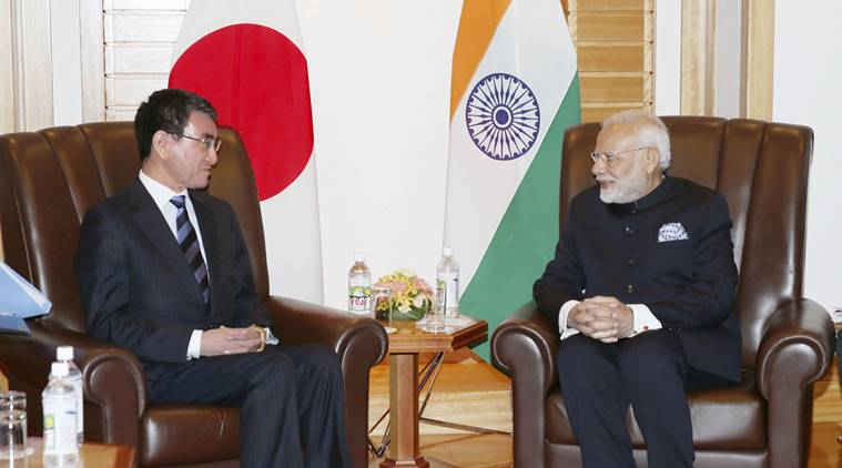 PM Modi discusses bilateral, regional issues with Japanese leaders
